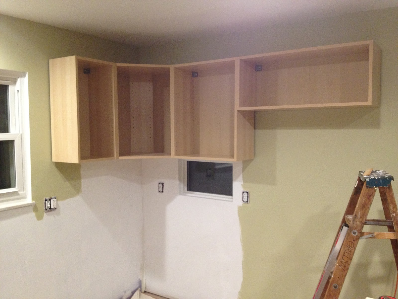 Ikea Kitchen Upper Cabinets How Much Is A Island Our September 2012